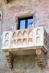 Verona's Romeo and Juliet balcony.
