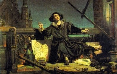 Pole Nicholas Copernicus undid Ptolemy's notion that the Earth was the center of the universe.