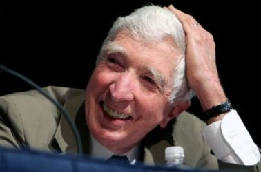 Updike in a panel discussion at BookExpo America 2006.