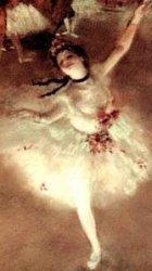 Ballerina by Degas.
