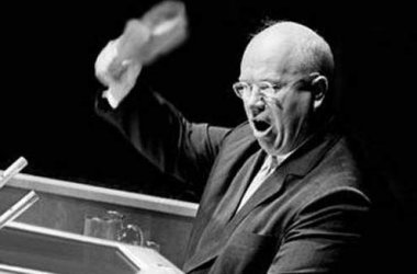 Khrushchev's shoe: When the Cold War was cold...