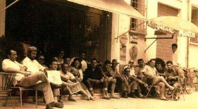 Il Bar Neri in the town of Cervia, circa 1946.
