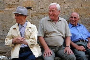 Italian men are Latin Lovers and charmers.