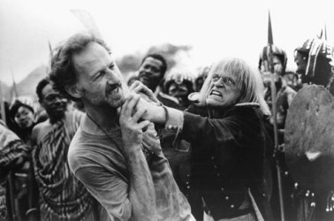 Herzog, who sees the whimsy in unsettling events.