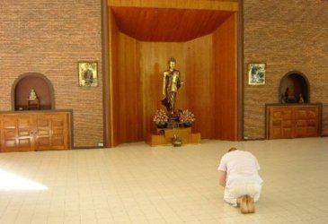 A wat is a sacred precinct. The word means school.