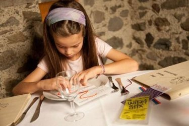 North American-style children's menus don't exist in Italy.