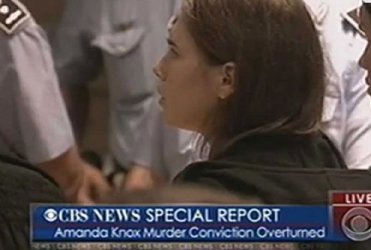 Convicted among others for the death of roommate Meredith Kercher.