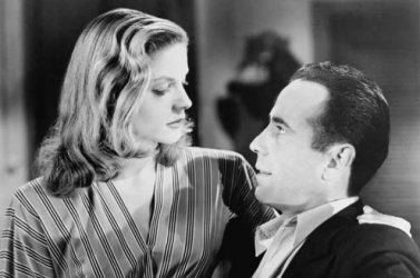 Bogart and Bacall in To Have and to Have Not.