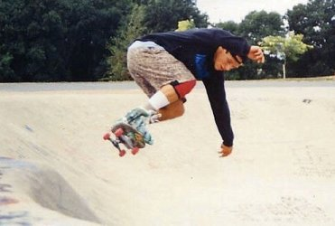 One of the first true professional street skateboarders.