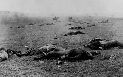 In Europe, 90 million dead over two world wars.