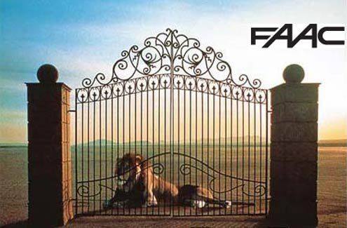 FAAC manufactures garage and gated community sliding doors.