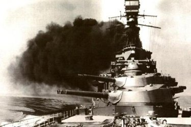 Despite many warnings that planes could sink big ships, big ships still went prowling.