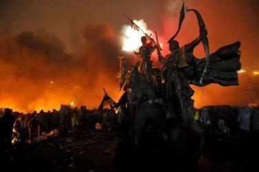 Dozens dead in a week of Ukraine violence.