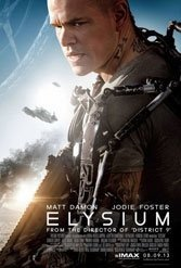 """While """"District 9"""" showed that South African writer-director Neill Bloomkamp had something to say, his follow-up """"Elysium"""" is less than zero."""