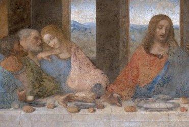 """Da Vinci's late 15th-century """"The Last Supper."""""""