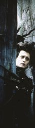 "Johnny Depp in ""Edward Scissorhands"""