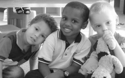 Kids can be spiteful to each other, with race as a pretext.