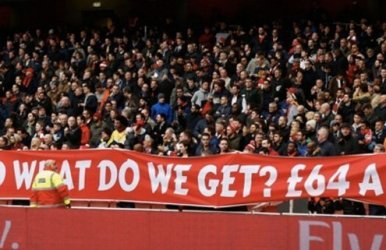 Liverpool fans recently made their views on rising ticket prices very clear.