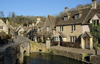 Castle Combe is a small Cotswold village in Wiltshire, England.