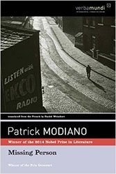 Modiano's slender 1978 psychological thriller remains a great Parisian novel.