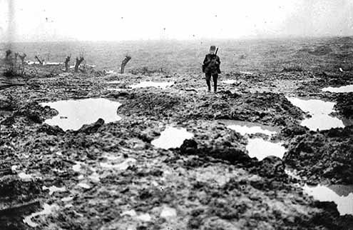 Nine months of fighting at Verdun.