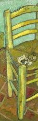 "Detaul from Van Gogh's ""Chair."""