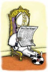 Berlusconi, parody, Christopher Lord, papacy