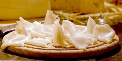 Italian lard, from Colonnato, is a delicacy.