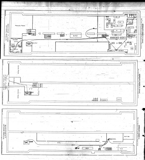 Floor plan of the National Pencil Company - click for high resolution