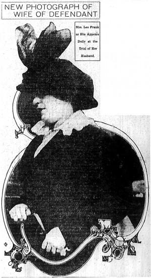 Mrs. Leo Frank in 1913