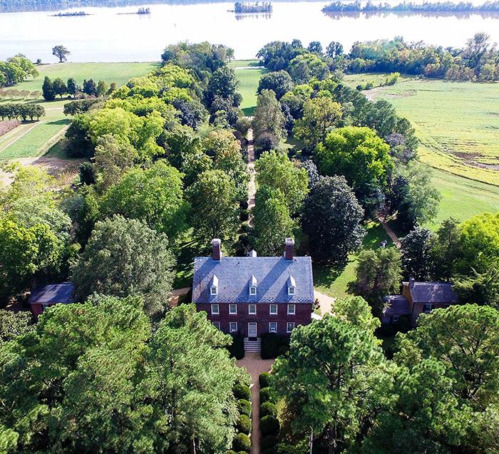 President Harrison's home