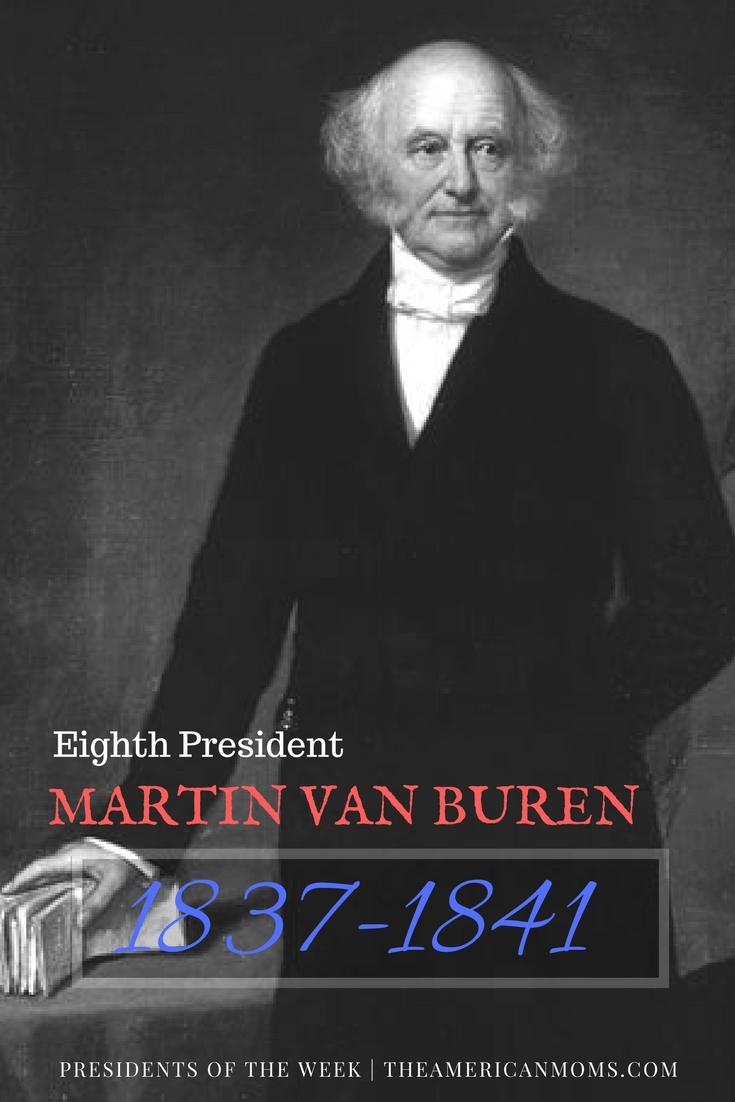 Martin Van Buren bio