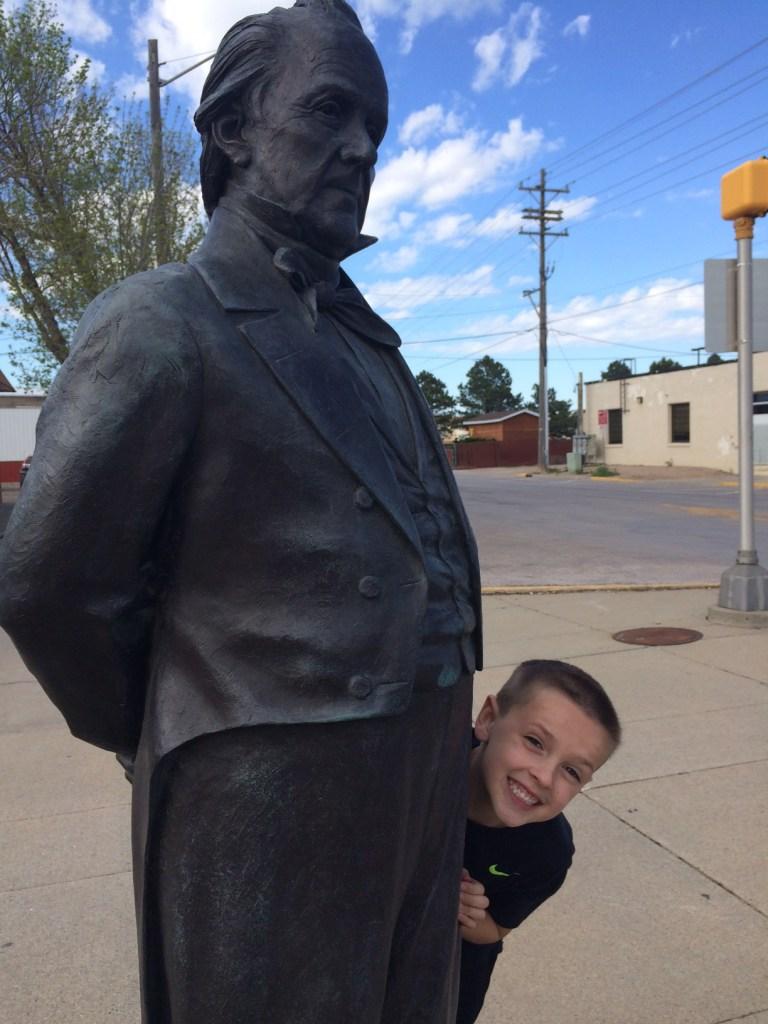 James Buchanan statue