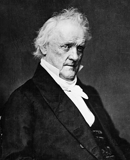 James Buchanan in his later years.