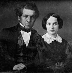 President James and First Lady Lucretia Garfield