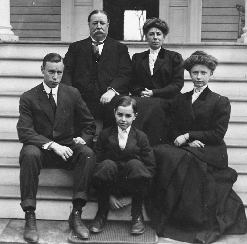 William Howard Taft family