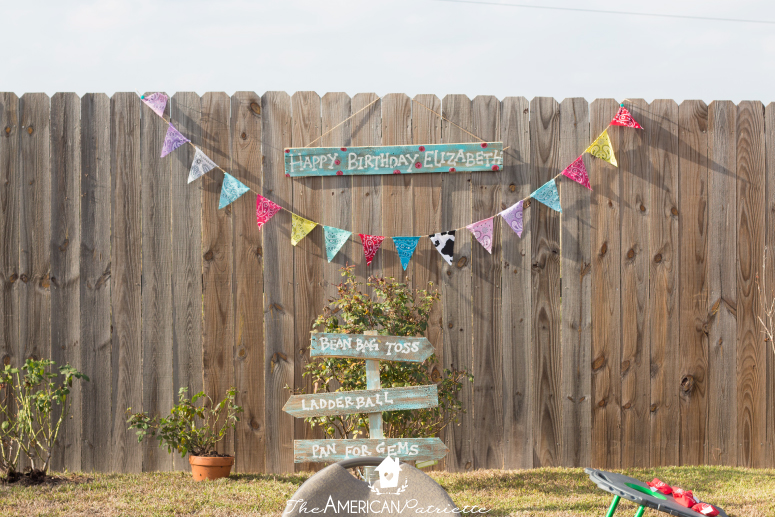 Kids Western Themed Birthday Party The American Patriette