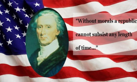 """Without Morals a Republic CANNOT subsist… They…decrying the Christian religion…are undermining…the best security…of free governments."" -Charles Carroll, longest-living signer of Declaration"