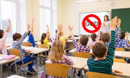 God banned from public school