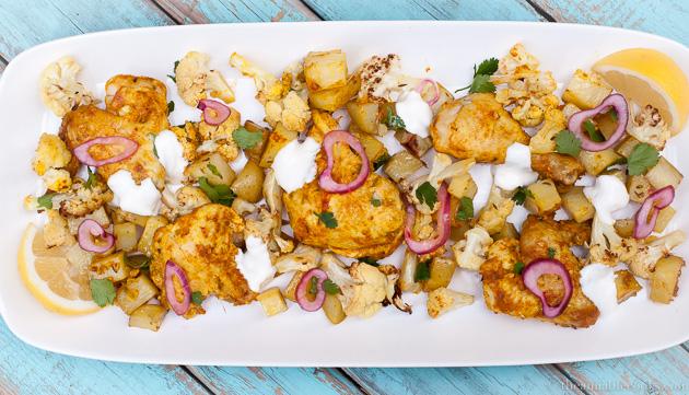 Sheet Pan Chicken Tikka | The Amiable Cooks | Chicken Tikka ...