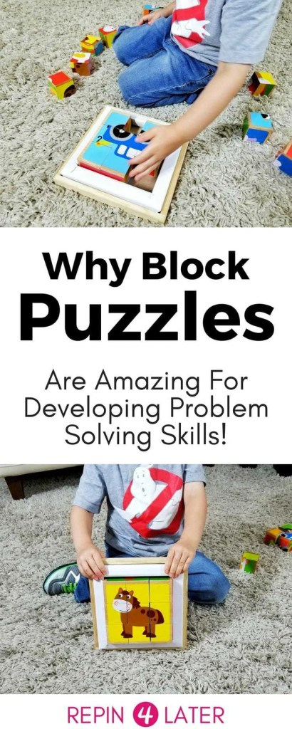 Learn why block puzzles (also called cube puzzles) are an amazing way to develop your child's cognitive, problem solving and creative skills! Hear from an expert!