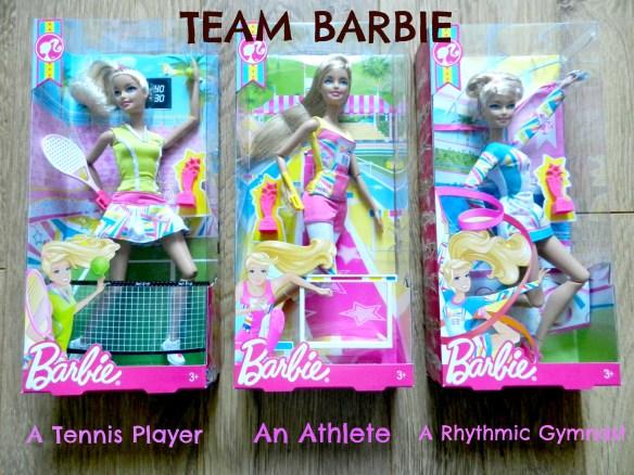 team barbie