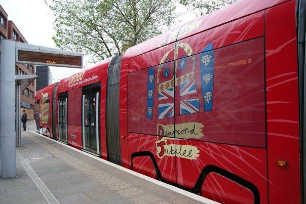 tram Queens jubilee