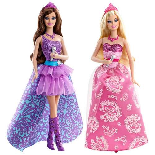Barbie, Princess and the popstar