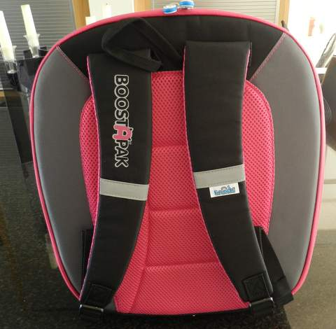 back pack features, boostapak