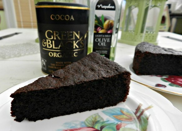 Nigella Lawson Chocolate olive oil cake