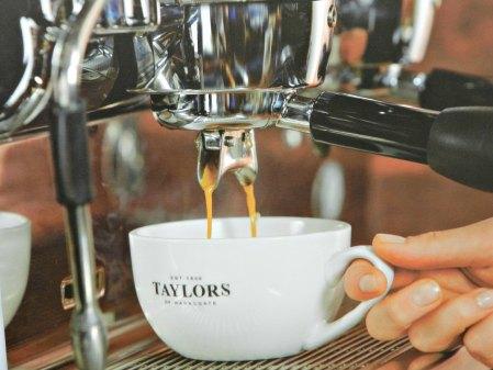 Coffee, freshly brewed
