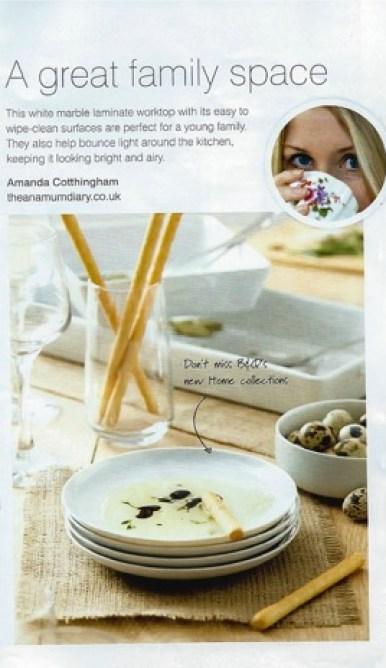 B&Q Kitchen Magazine