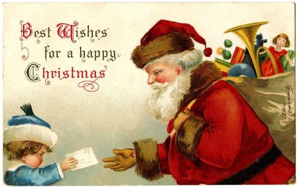Vintage Santa Letter