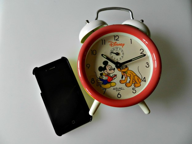 Phones 4 U Alaem Clock, Mobile Phone